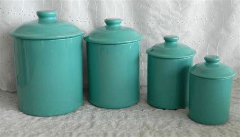teal kitchen canisters 17 best images about kitchen canisters on pinterest jars