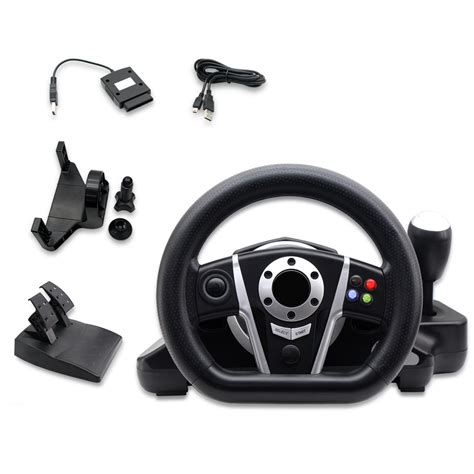 new multifunction steering wheels with pedals for ps3