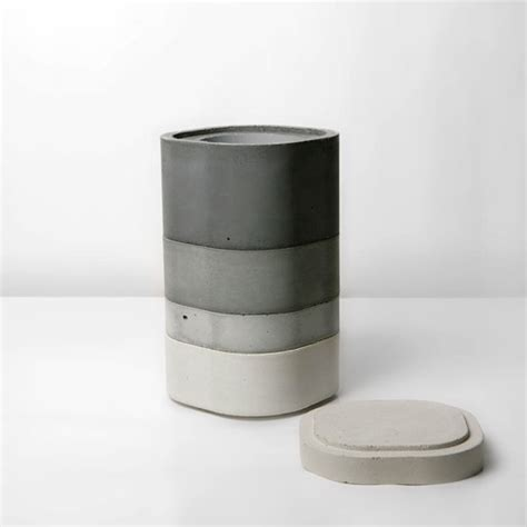 design milk concrete concrete vase by xiral segard design milk