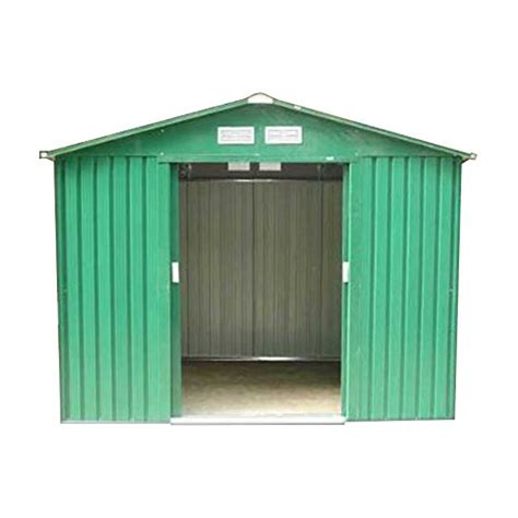 Metal Garden Shed With Base by Pro Toolstm Metal Garden Shed 8 X 6 With Base
