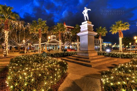 Night Of Lights St Augustine Tony Giese Professional Photographer Daytona Beach