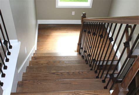 Hardwood Floor Refinishing Kansas City by Floor Refinishing Stair Remodel Leawood Ks