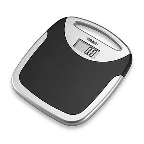 conair thinner portable digital bathroom scale bed