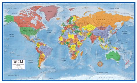 world classic pacific centered laminated national geographic reference map books national geographic maps books with free