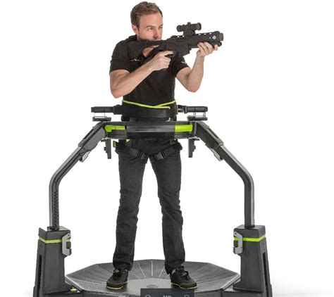 Omni Vr reality treadmill maker virtuix tests the waters for a mini ipo gamesbeat