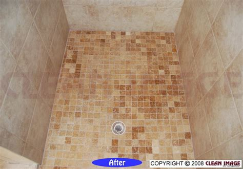Marble Shower   Floor Refinishing   Natural Stone and Tile