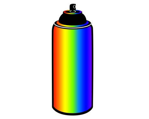 spray paint in cans spray paint can vector www imgkid the image kid