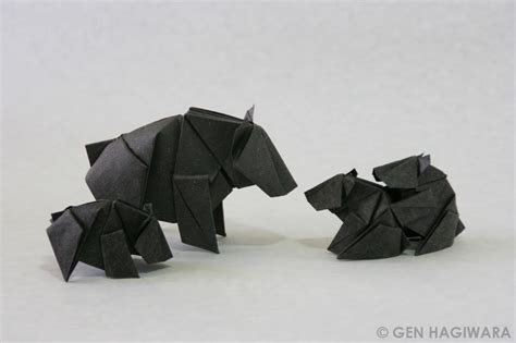 Origami Family - 23 wonderful origami woodland animals