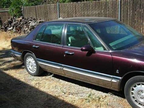 1995 buick park avenue 4dr sedan in tacoma wa midland motors llc buy used 1995 buick park avenue ultra supercharger sedan 4 door 3 8l low miles in coyote