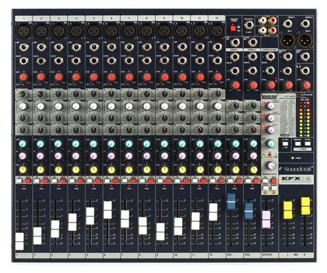 Mixer Soundcraft Efx 12 soundcraft efx12 mixer with effects sweetwater