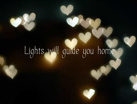 Light Will Guide You Home by