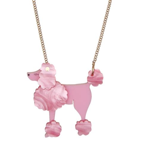 Tatty Devines Ss07 Jewellery Collection Available Now tatty pink poodle necklace at jewellery4