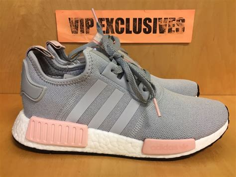 Adidas Nmd R1 Vapour Pink Light Onyx Grey 37 40 adidas nmd r1 w grey vapour pink light onix s nomad runner by3058 limited ebay