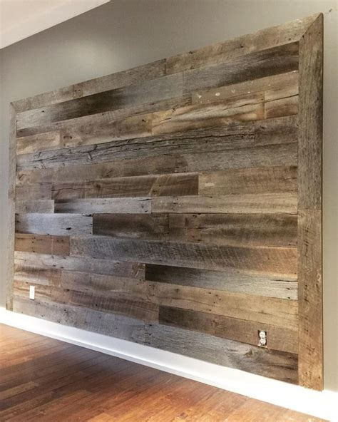Simple Wood Design For Wall
