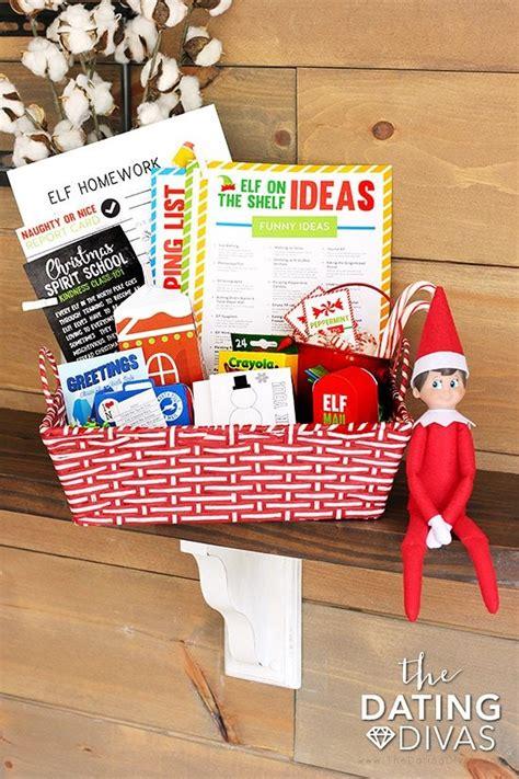 printable elf on the shelf kit elf on the shelf printables kit the dating divas