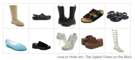Ugliest Shoe Of 2007 by Professional And Bored Top Ten Ugliest Shoes The