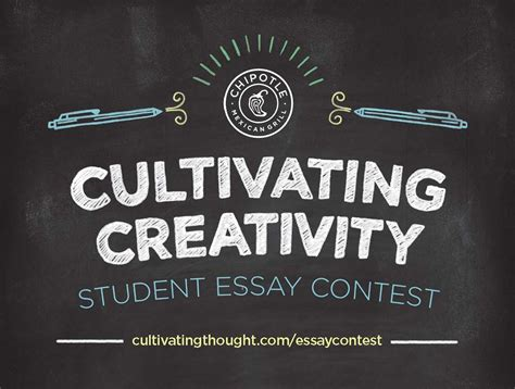 Cultivating Thought Student Essay Contest by Chipotle Continues Quot Cultivating Thought Quot With A Student Essay Contest 187 Mobylives