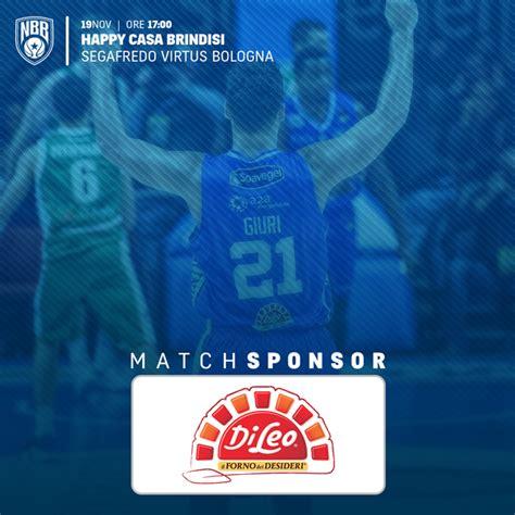 happy casa bologna new basket brindisi di leo biscotti match sponsor happy