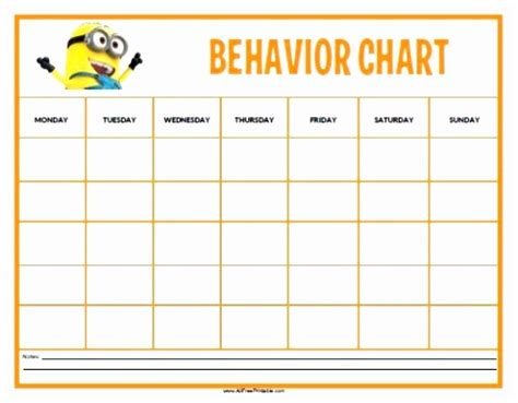 smiley behavior chart template 12 smiley behavior chart template koukp templatesz234