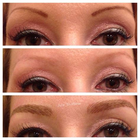 tattoo eyebrows in maryland before and after microblading which is a manual tattoo