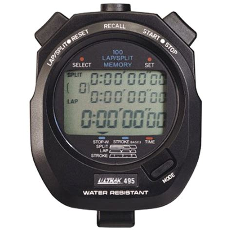 Finis 100 Memory Stopwatch cei ultrak 495 100 memory stopwatch black 495 blk