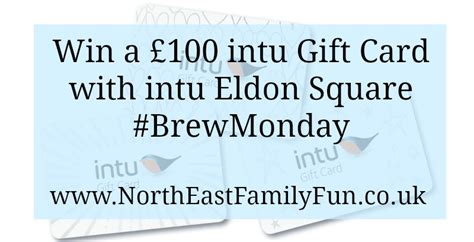 Eldon Square Gift Card - an appy brew monday at intu eldon square plus win a 163 100 intu gift card north