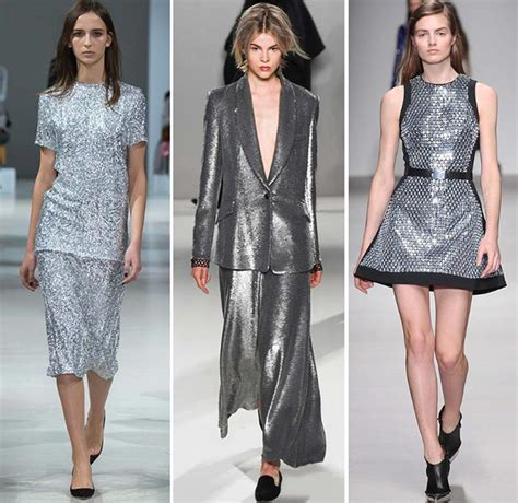 Trend White And Metallic by Fall Winter 2015 2016 Color Trends Fashionisers