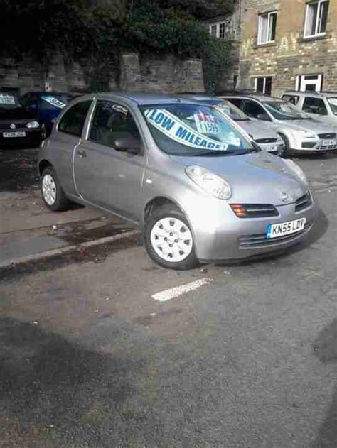 Nissan 3 Door Car by Nissan 2005 Micra S Silver 3 Door Car For Sale