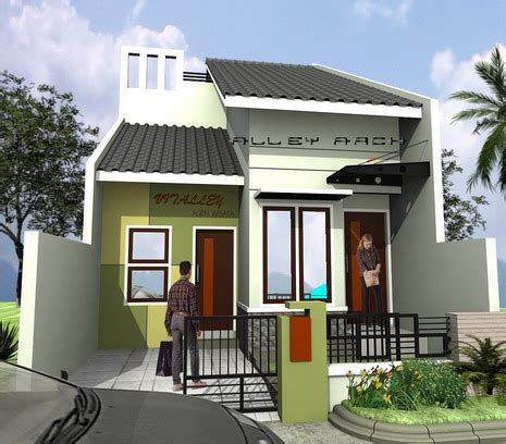 desain rumah minimalis type   terbaru  terpopuler rumah minimalis