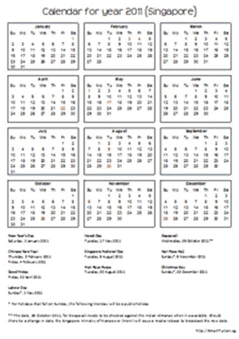 printable calendar 2015 singapore 2015 singapore calendar with holidays smart tuition