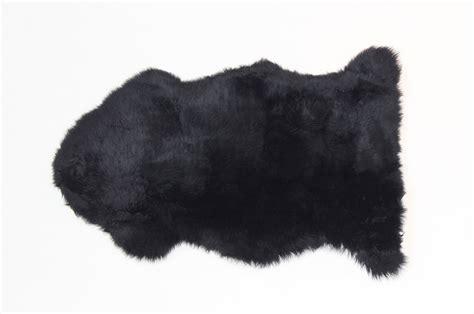 Black Sheepskin Rugs by Fibre By Auskin Sheepskin Rug Premium Black
