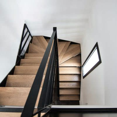 Escalier Bois Et Noir by Escaliers De Maison Individuelle M 233 Tallerie Martin