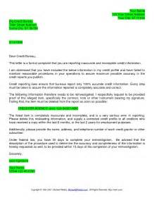 credit report dispute letter lettoki throughout dispute
