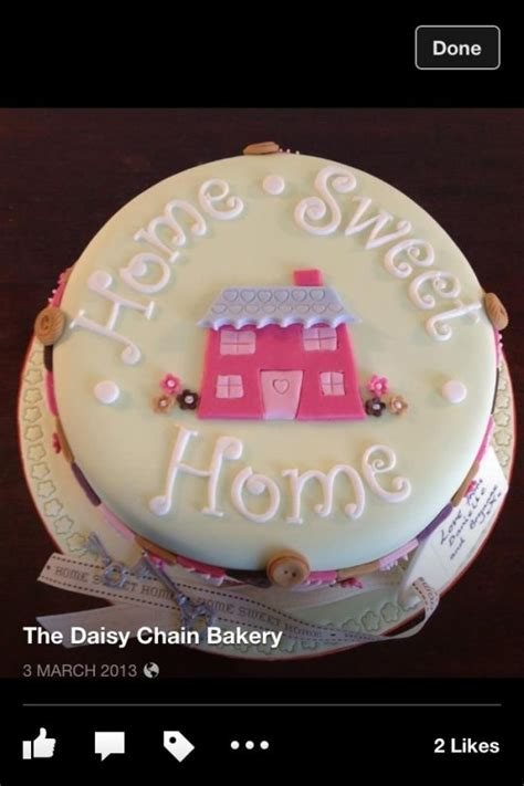 home sweet home new home cake cake by