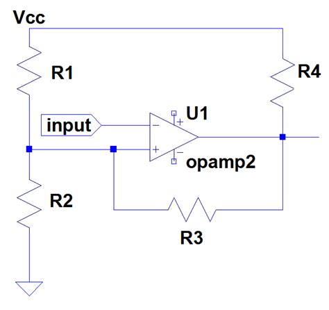 why feedback resistor is used comparator a question about positive feedback resistor in a trigger electrical