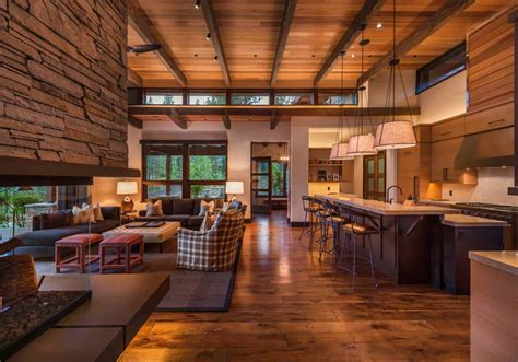 home decor modern mountain modern home in martis c with indoor outdoor living