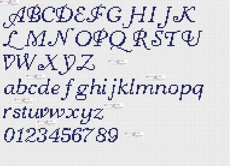 lettere in corsivo a punto croce amorevitacrocette punto croce alfabeti in corsivo
