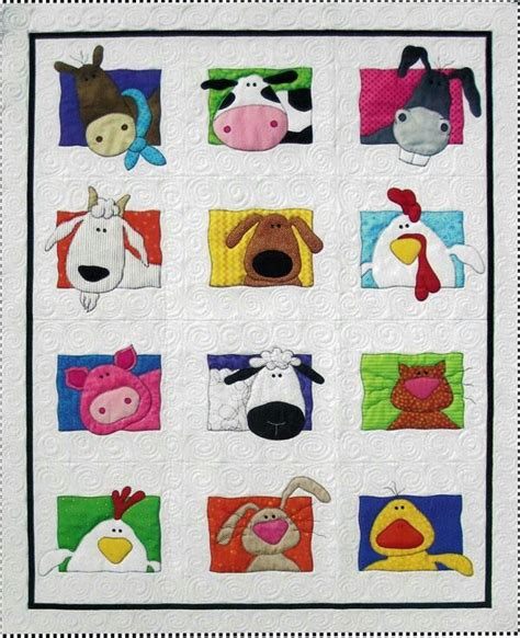 Animal Patchwork Quilt Patterns - 17 best images about hallo on