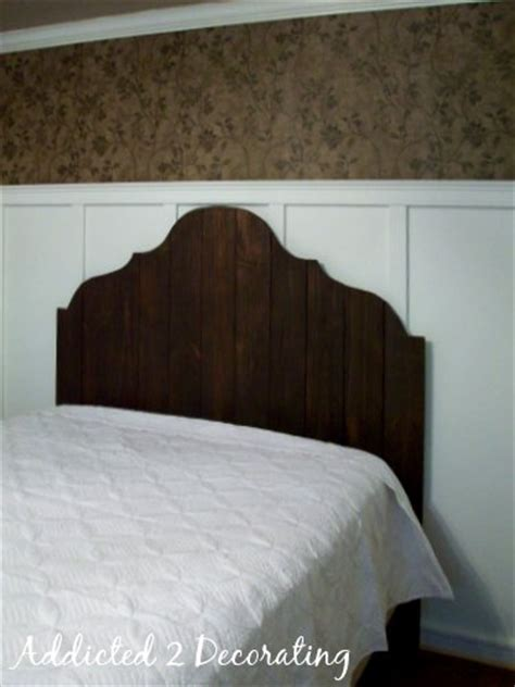 wood fence headboard make a headboard from fence pickets for under 50