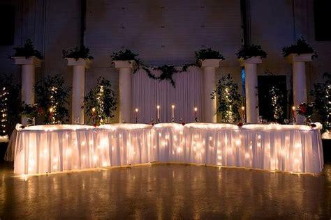 desain meja pesta dekorasi unik jelang pesta pernikahan di rumah rumah dan