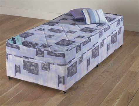 how wide is a single bed budget single divan bed base mattress set 2ft 2ft3