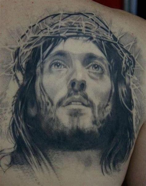 jesus had a tattoo jesus with thorns tattoos