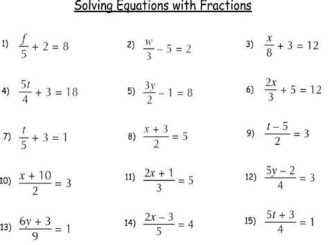 Multi Step Equations Worksheet Variables On Both Sides by Multi Step Equations With Variables On Both Sides