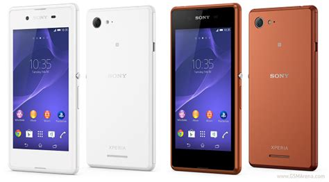 Hp Sony Gsmarena sony xperia e3 pictures official photos