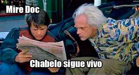 chistosos memes de chabelo los mejores memes de marty mcfly el doc y volver al futuro