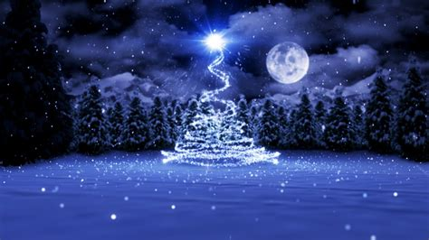 animated christmas card template christmas by moonlight