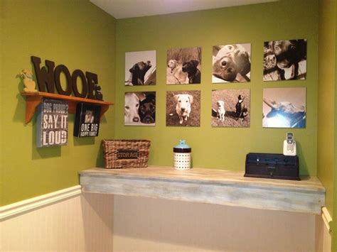 pet room ideas dog room wall of fame doing this with all of hambastian s