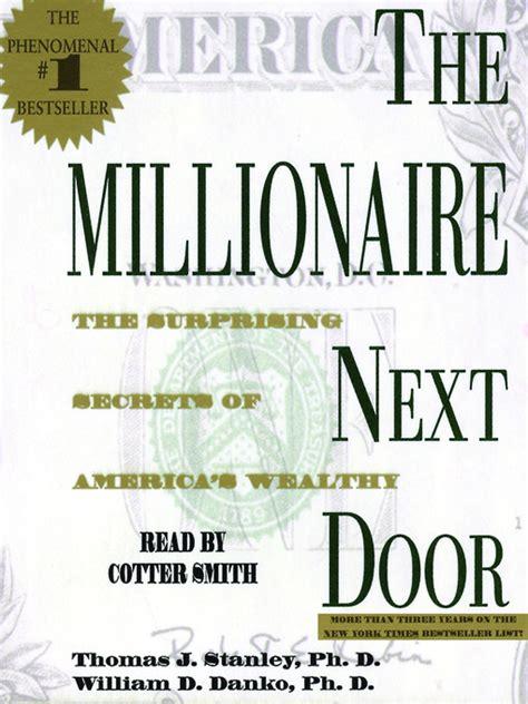 Millionaire Next Door Audiobook by The Millionaire Next Door Downloadable Audiobook