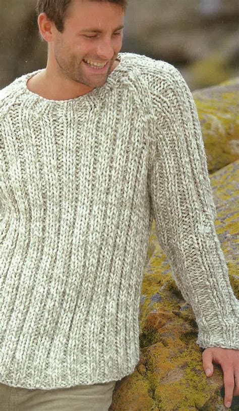 knitting pattern sweatshirt jumper knitting pattern mens jumper sweater jersey 38ins 48ins