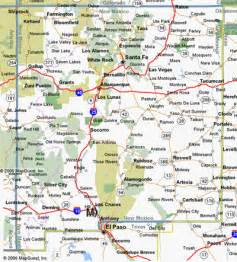 and new mexico map with cities new mexico map and new mexico satellite images